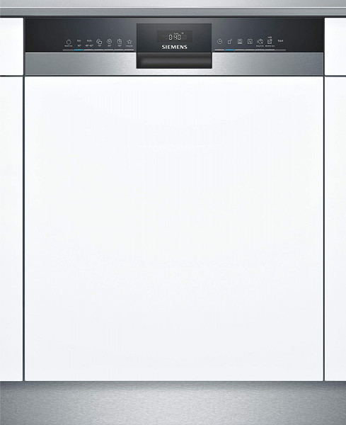 Siemens SN53HS60AE teilintegrierbarer Geschirrspüler, Home Connect, 60 cm, Edelstahl