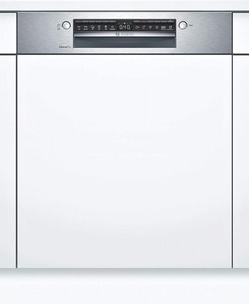 Bosch SMI4HCS60E teilintegrierbarer Geschirrspüler, Home Connect, 60 cm, Edelstahl