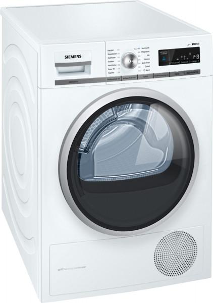 Siemens WT47W5W0 Wärmepumpentrocker 8 Kg, weiß