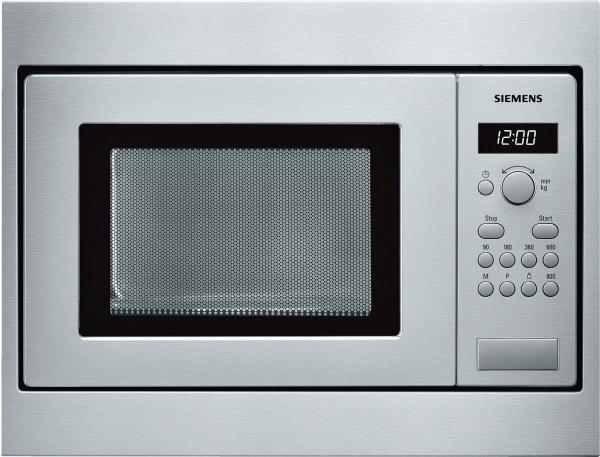 Siemens HF15M552, Einbau-Mikrowelle, 50 x 36 cm, Edelstahl