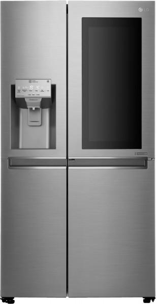 LG GSI961PZAZ Side by Side InstaView Door-in-Door™, 625 Liter, Edelstahl, EEK: F