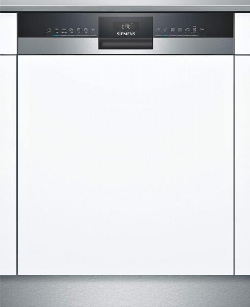 Siemens SN53HS36TE teilintegrierter Geschirrspüler, 60 cm, Home Connect, Edelstahl