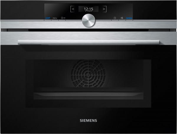 Siemens CM633GBS1 Einbau-Kompaktbackofen mit Mikrowelle 60 x 45 cm Edelstahl