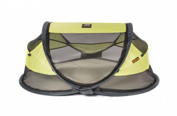 Deryan Reisebett Baby-Luxus, 2020, 120 cm, Polyester, hellgrau, 120 cm