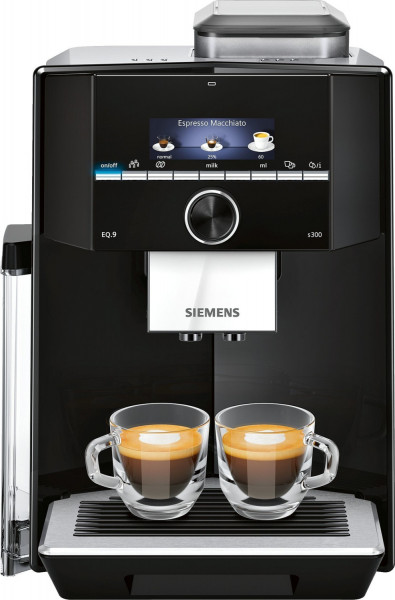 Siemens TI923509DE Kaffeevollautomat EQ.9 s300 Schwarz