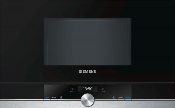 Siemens BF634LGS1 Einbau-Mikrowelle 60 x 38 cm Edelstahl