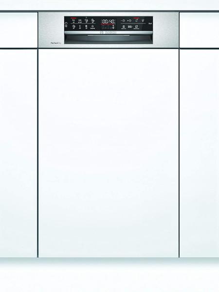 Bosch SPI6ZMS35E Teilintegrierter Geschirrspüler, Home Connect, 45 cm, Edelstahl