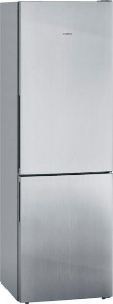 Siemens KG36EALCA Kühl-Gefrier-Kombination, 186 x 60 cm, Edelstahl-Look