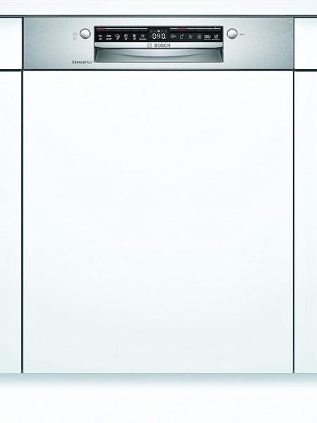 Bosch SMI4HDS52E teilintegrierbarer Geschirrspüler, Home Connect, 60 cm, Edelstahl, EEK: D