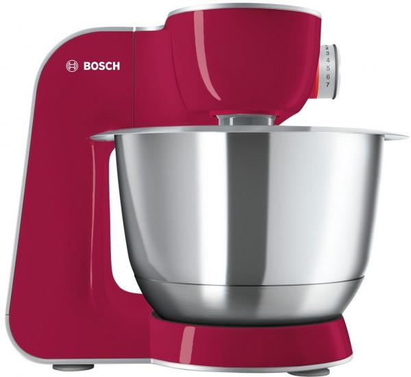 Bosch MUM58420 CreationLine Küchenmaschine MUM5 1000 W Rot, silber